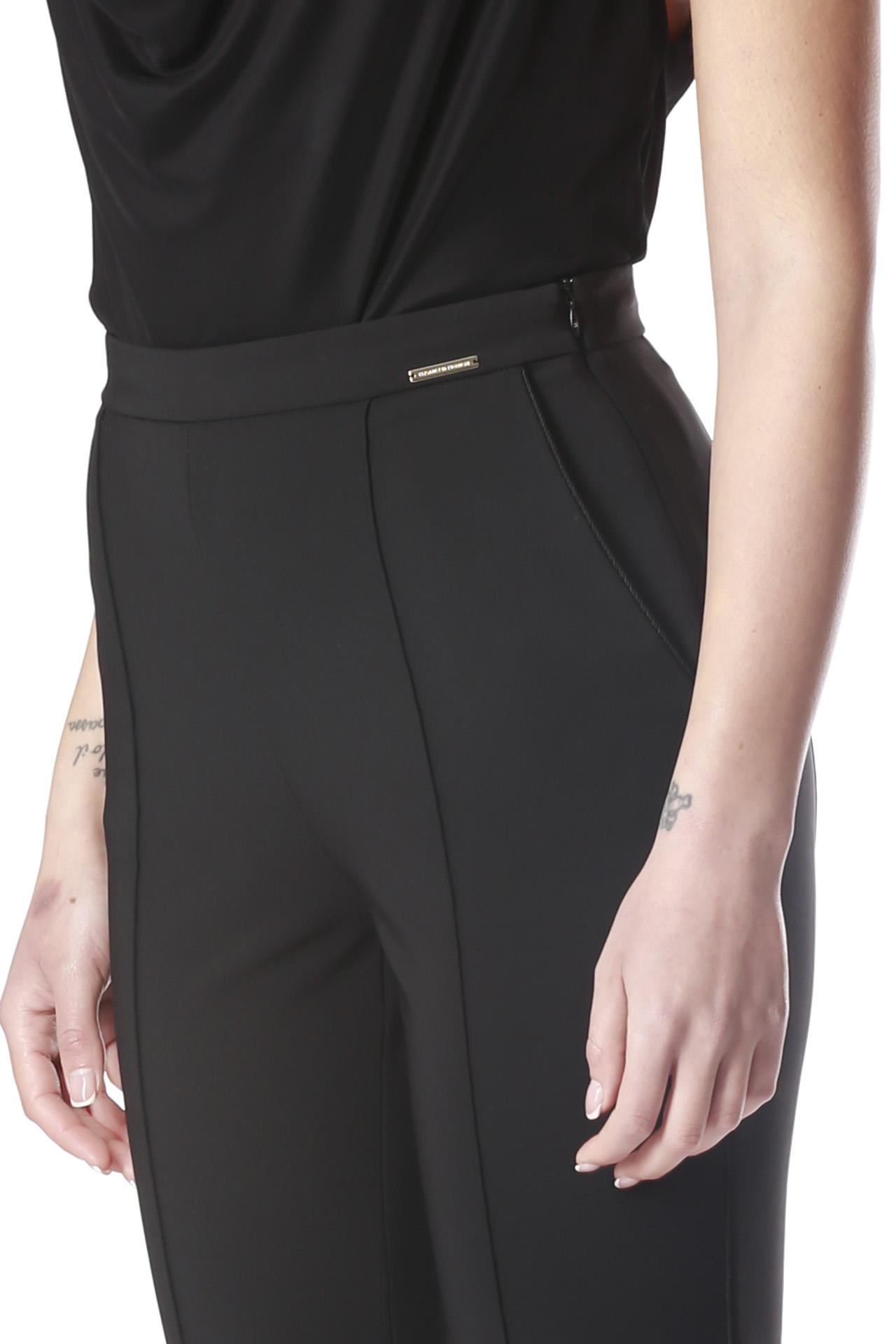 new york tecnico codina di top ELISABETTA FRANCHI   Pantalone   PA06401E2110