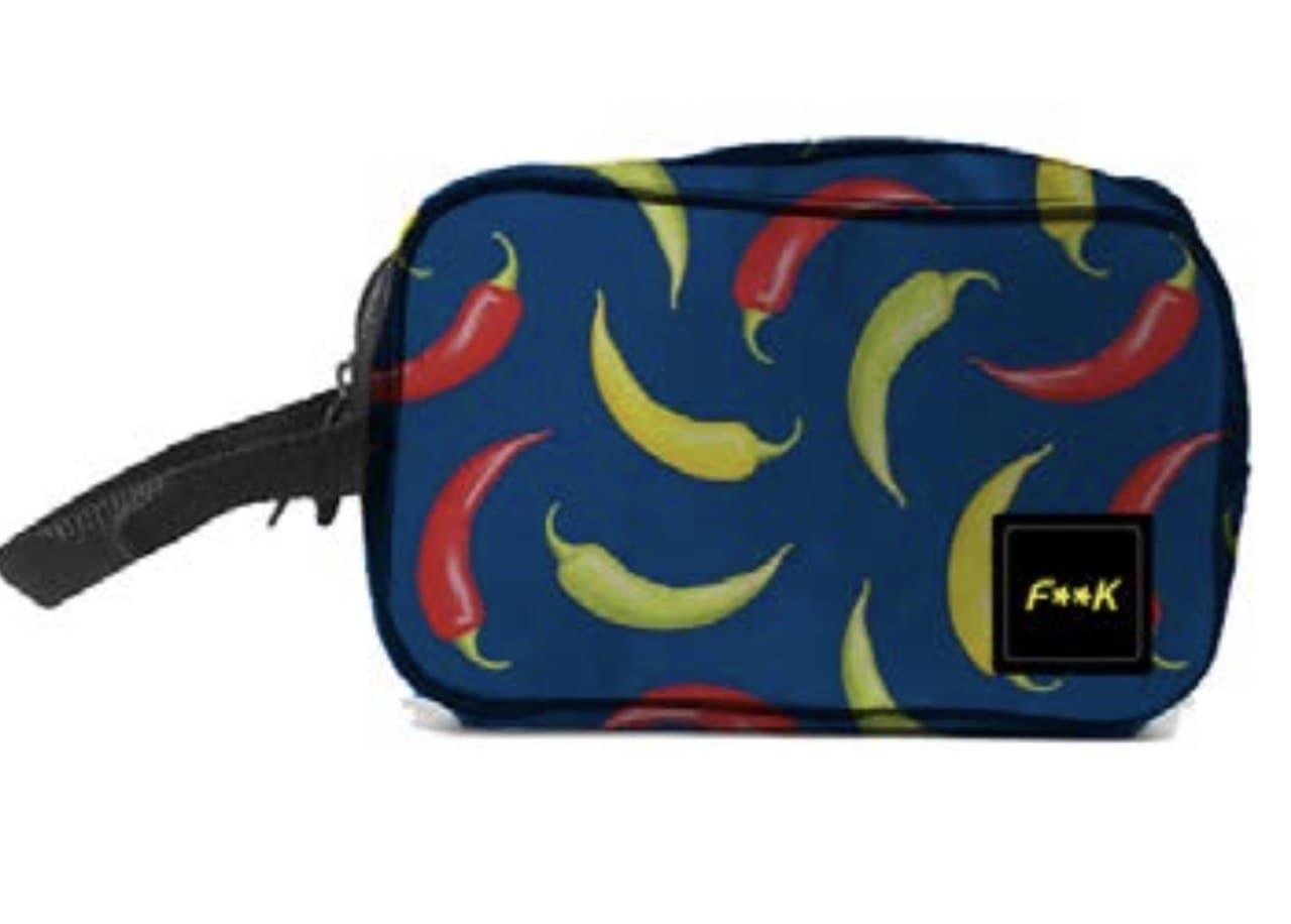 polso necessaire nylon peperoncini f**K | Pochette | F21A209UBL