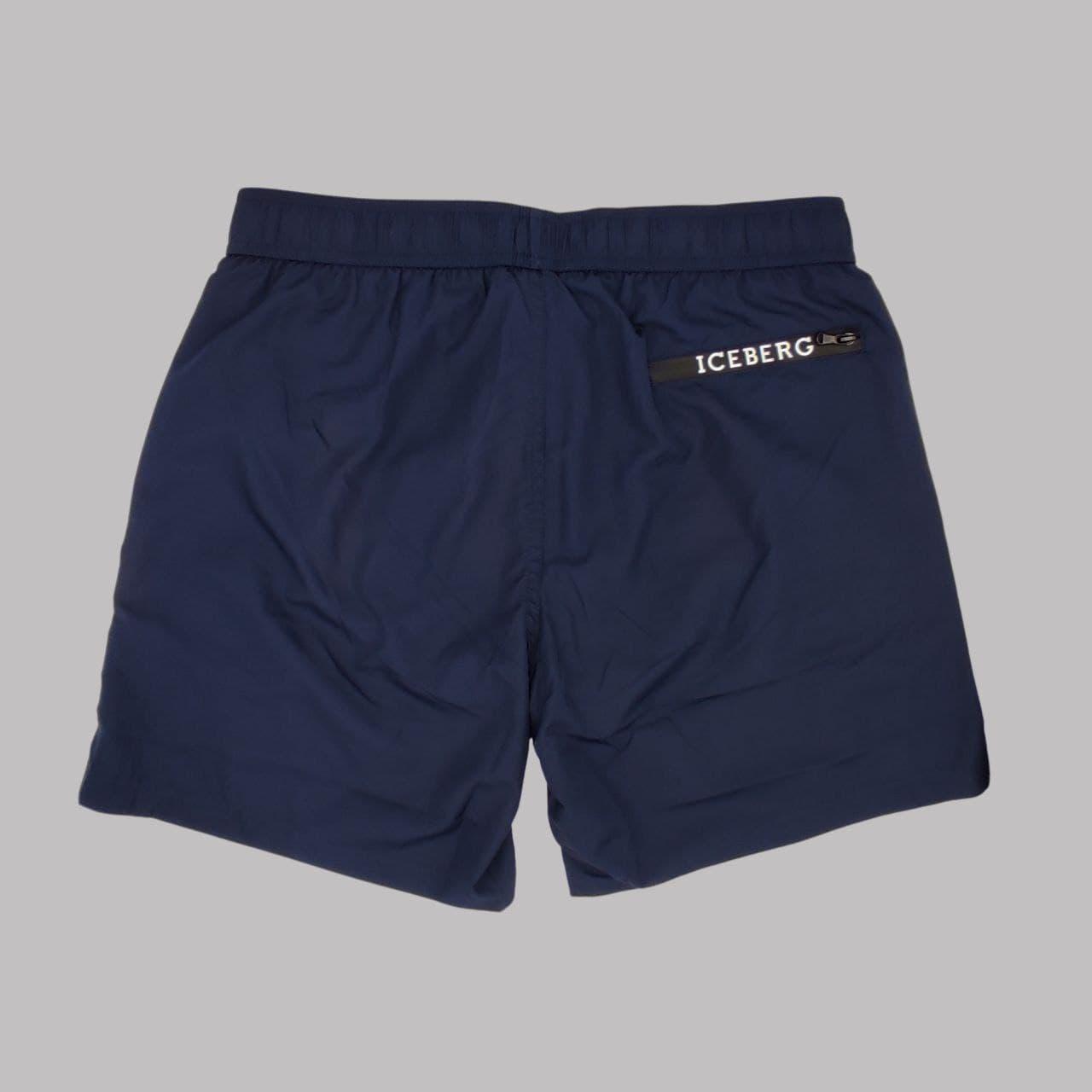 boxer logo sx task termo ICEBERG BEACHWEAR | Costume | ICE1MBM06BL