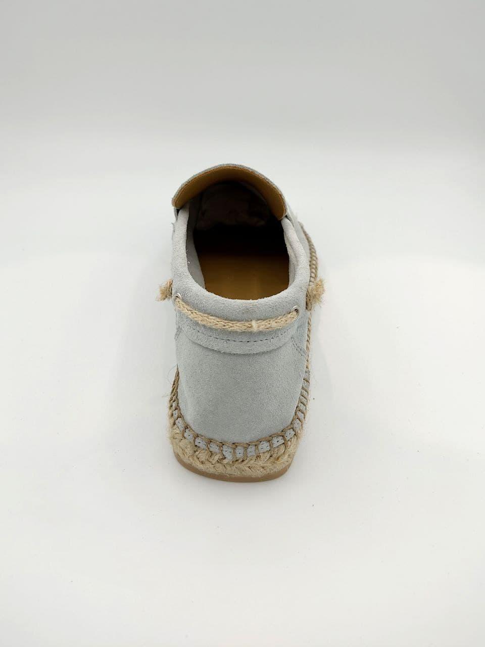 mocassino camiscio fondo spago LA GOA | Scarpe | GENEVEGH