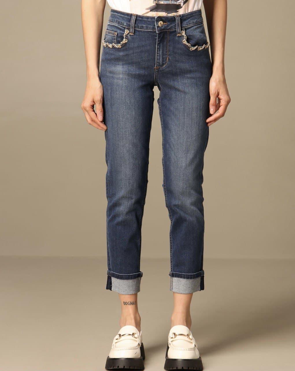 monroe  regular catena tasche LIU JO BLUE DENIM 1   Jeans   UA1006D418677539
