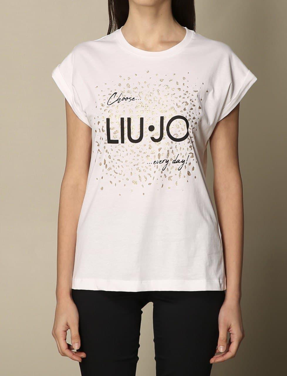 maculato glitter LIU JO JEANS 1   T-shirt   WA1327J009411111