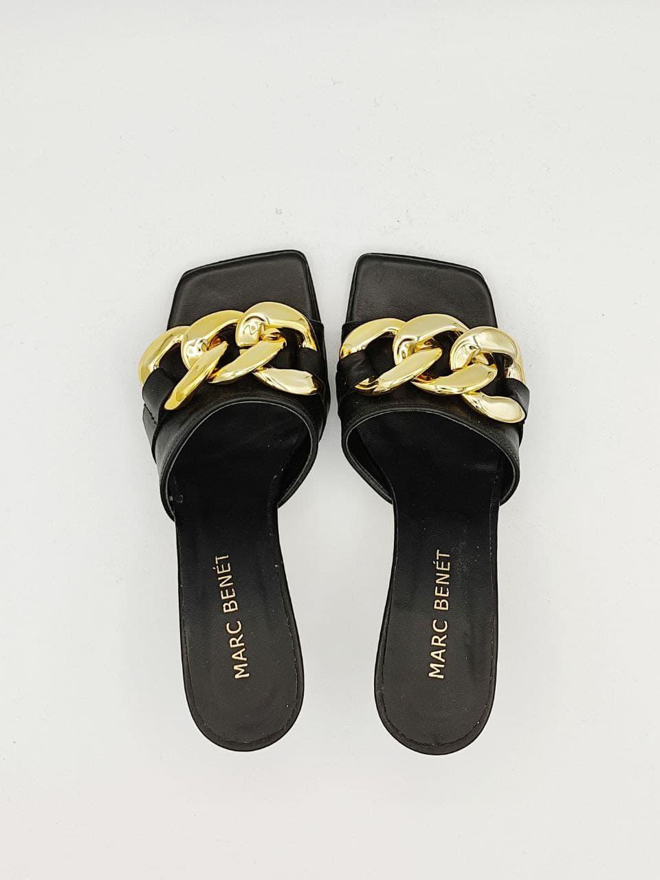 catena fascia MARC BENET ACCESSORI | Sandalo | FLAT 70 CHAINNO
