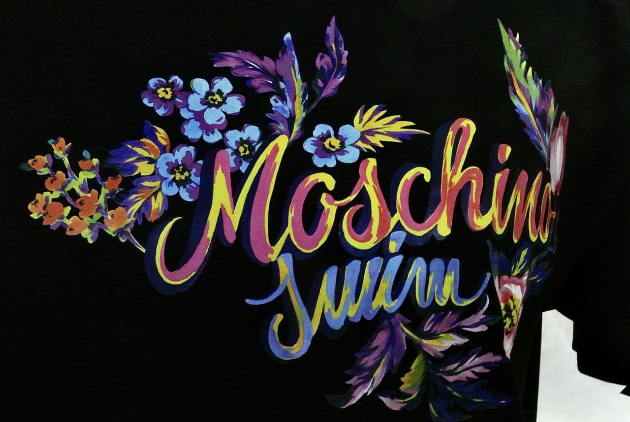 bouquet dipinto MOSCHINO SWIM | T-shirt | A1906 21160555