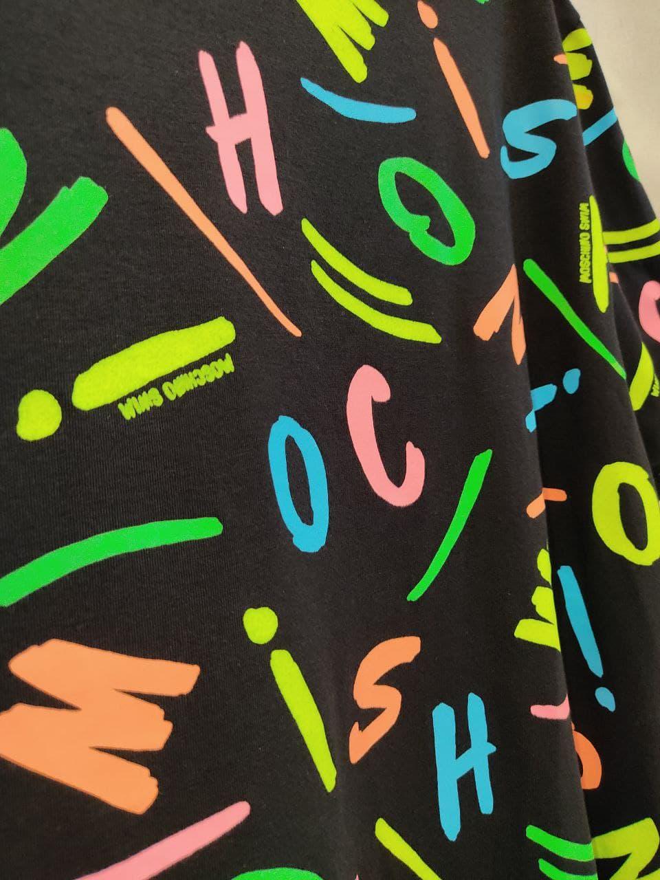 lettere multicolor MOSCHINO SWIM | T-shirt | A1918 21385888