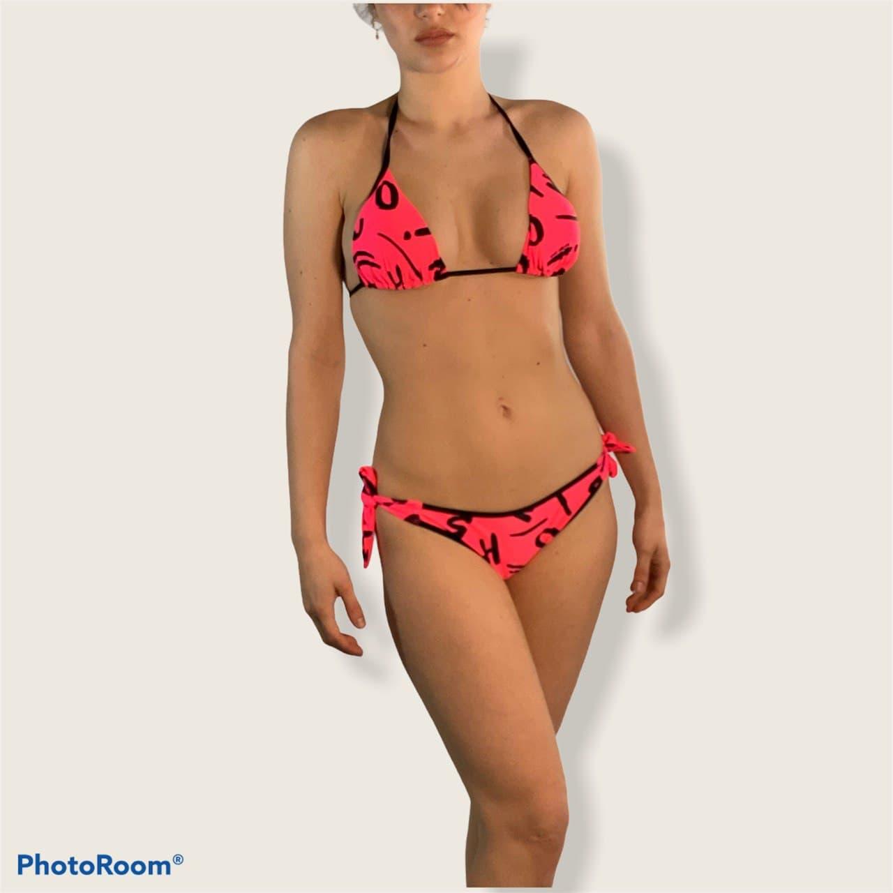 triangolo lettere all over MOSCHINO SWIM   Bikini   A5715 A7107 21061206