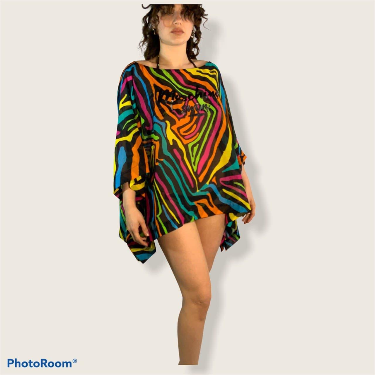 etnico multicolor MOSCHINO SWIM | Kaftano | A800721431555