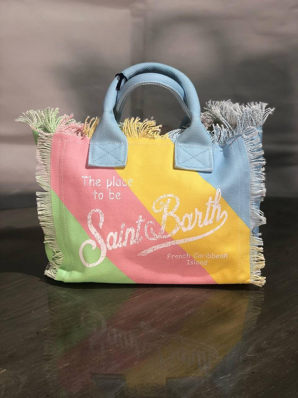 SAINT BARTH | Bag | COLETTEPASTELSTRIPES001