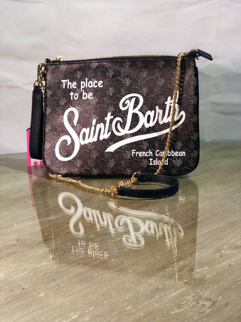 saffiano palme all over SAINT BARTH | Pochette | PARISIENNESPAR001000