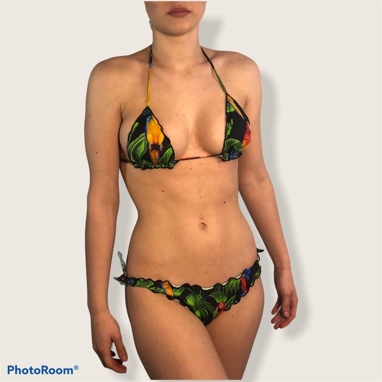 triangolo pappagalli SAINT BARTH   Bikini   SAGITTARIUSMOONMACW00