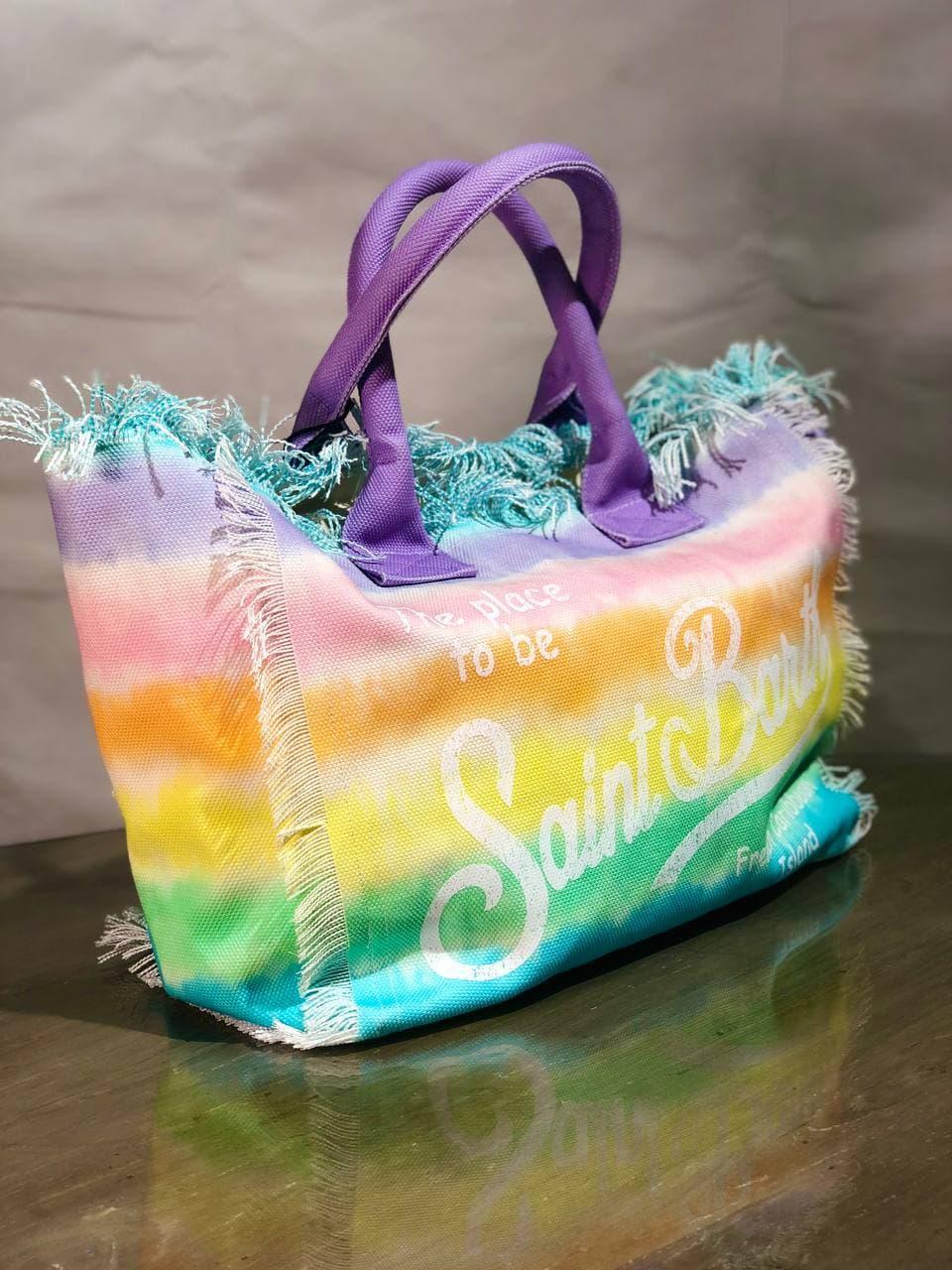 rainbow stripes dye SAINT BARTH | Borsa | VANITYRNWSDAR