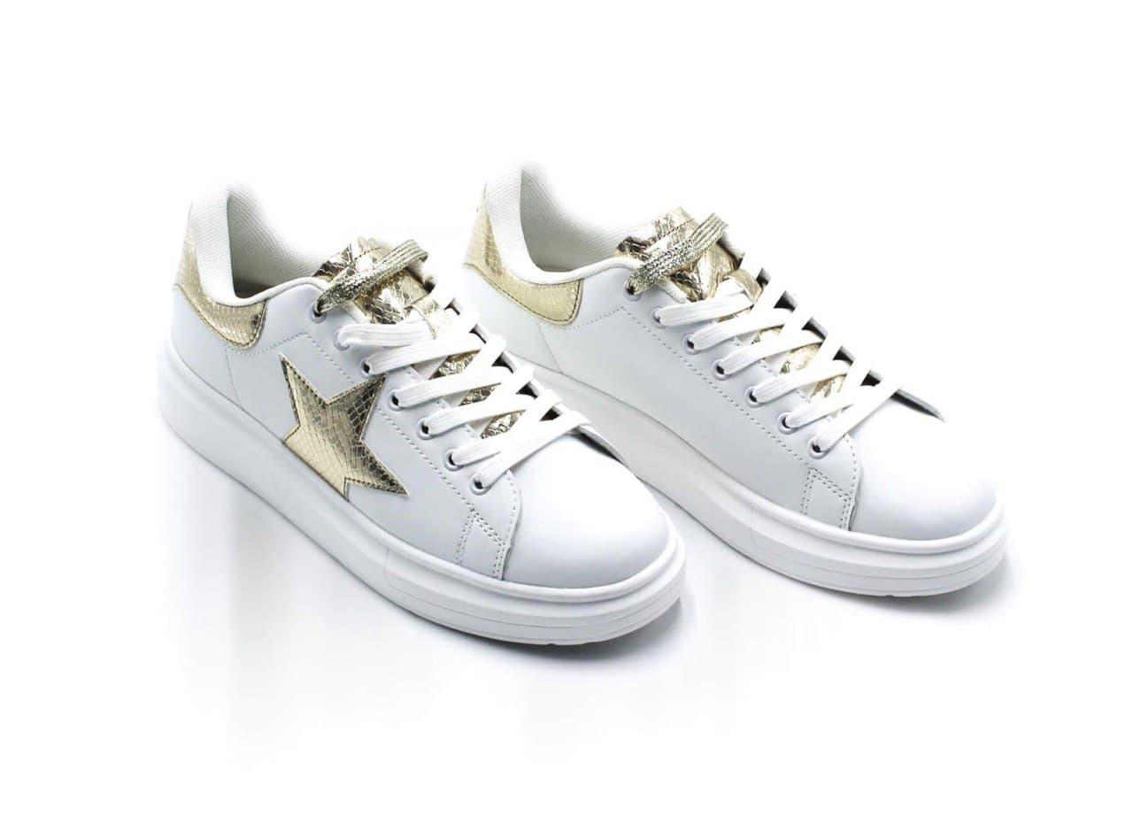 sneakers stella oro SHOP ART ACCESSORI | Scarpe | SA050111GOO