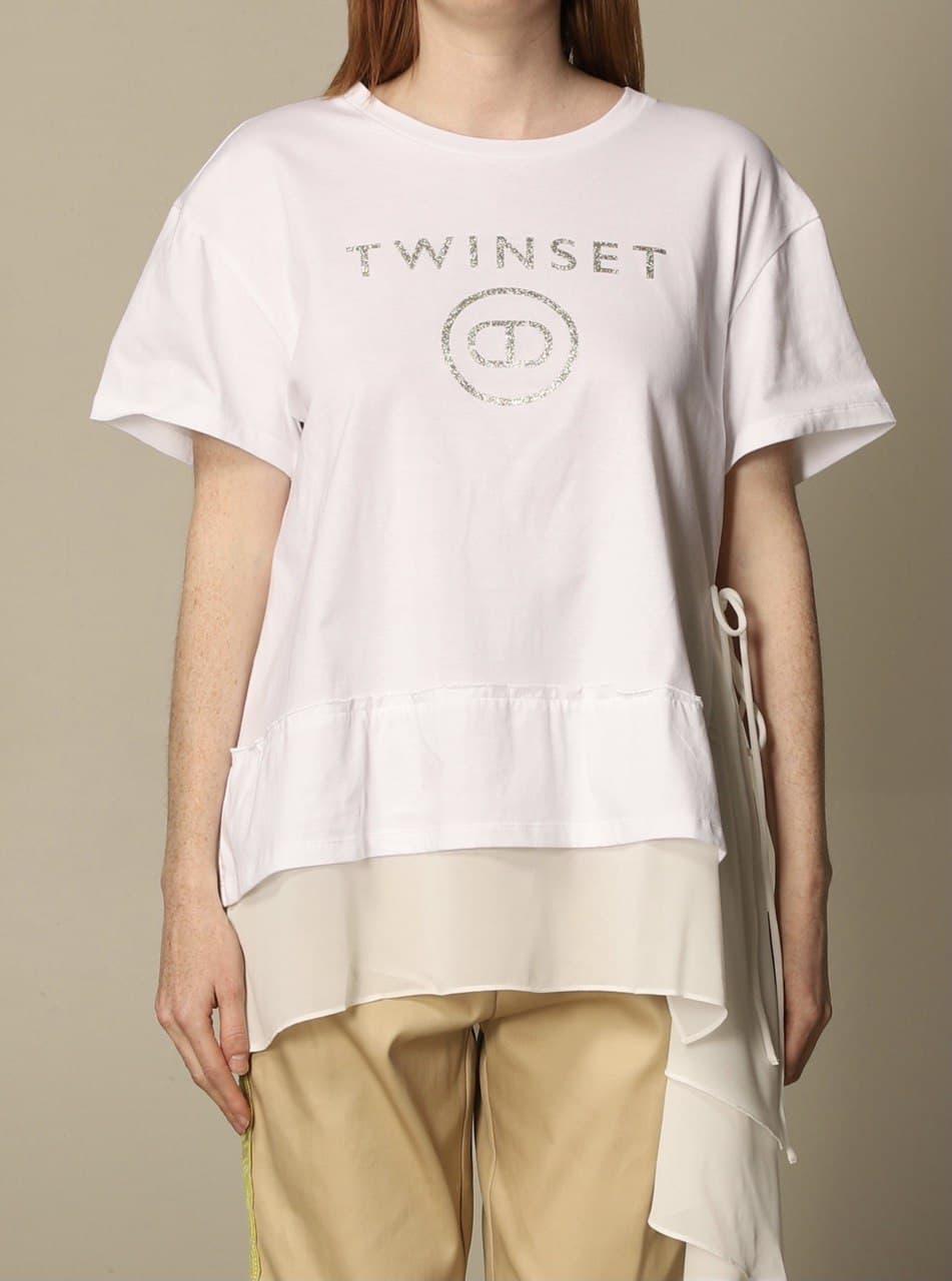 TWIN SET COLLECTION   T-SHIRT   211TT251000001
