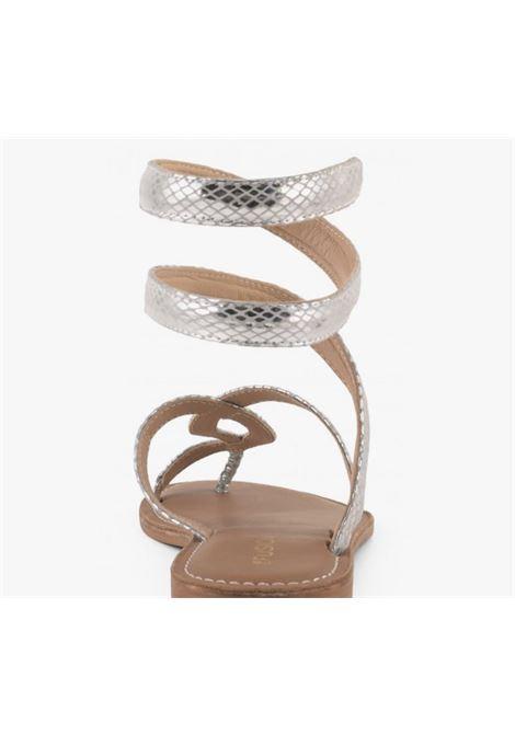 schiava rettile laminato CB FUSION | Sandalo | R217037SIL