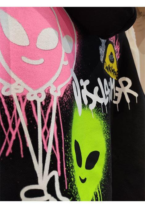 hoody aliens balloons DISCLAIMER | Felpa | 21EDS50645NE