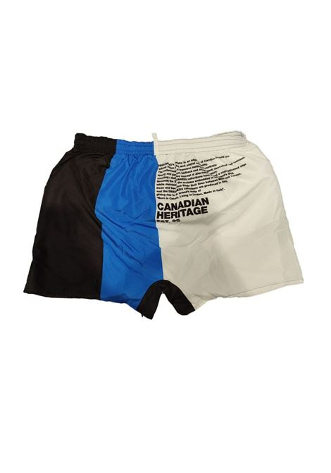 boxer tricolor  brotherhood Dsquared2 | Costume | D7B543900977