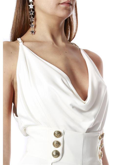 scollo cappuccio bretelle ELISABETTA FRANCHI | Body | BO20801E2360
