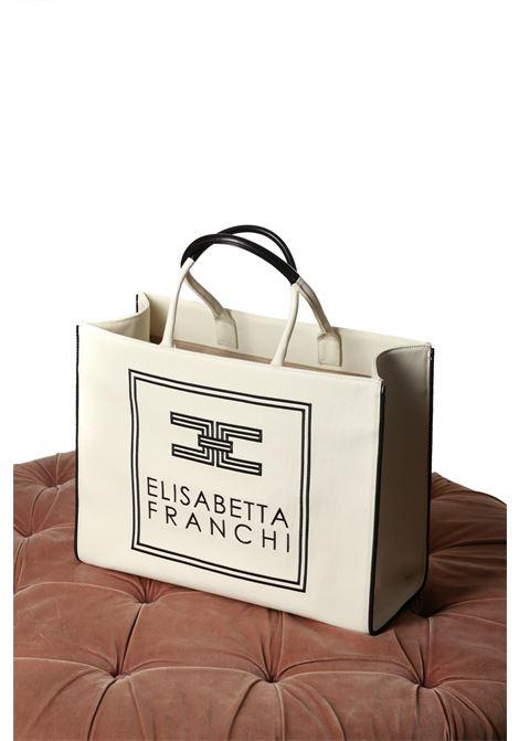 shopper big canvas ELISABETTA FRANCHI | Borsa | BS01A01E2309