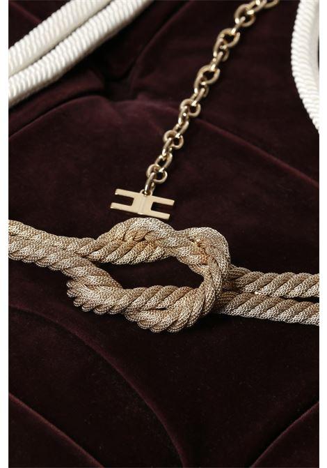 cordone marino ELISABETTA FRANCHI | Cintura | CT12A01E2360