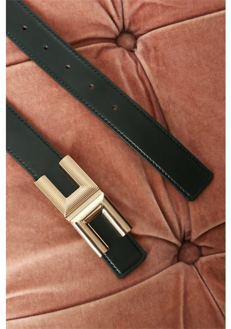 piccola fibbia rigata ELISABETTA FRANCHI | Cintura | CT60S96E2568