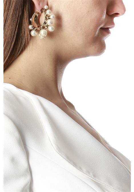 cerchio perloni ELISABETTA FRANCHI | Orecchini | OR46F02E2511