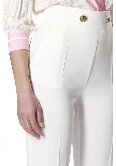 new york crepe coda di topo ELISABETTA FRANCHI | Pantalone | PA05501E2360