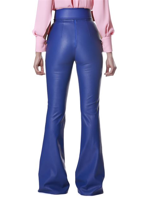 ecopelle zampa cintura ELISABETTA FRANCHI | Pantalone | PA07501E2565