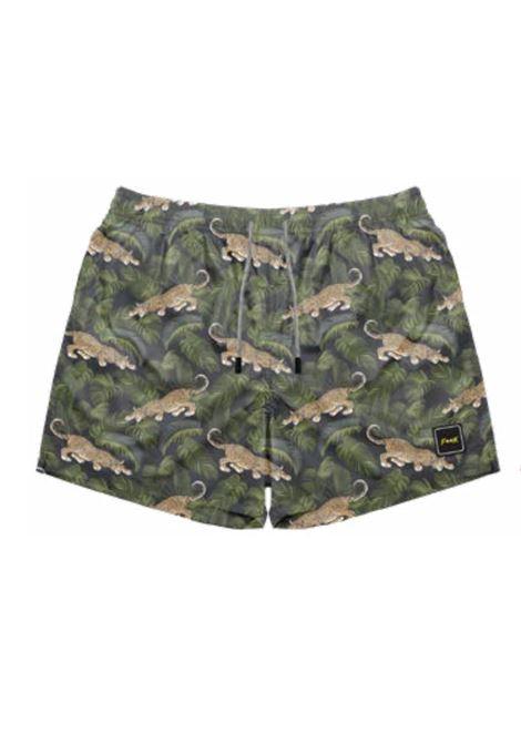 short leopardi f**K | Costume | F212076UNE