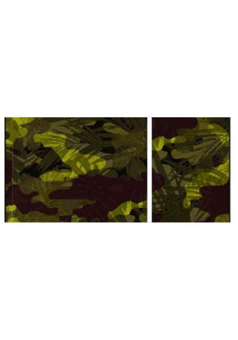 camouflage microfibra f**K | Telo mare | F21A0048UCA