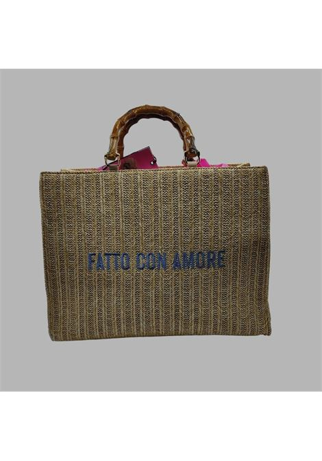 shopper rafia GIULIA NATI | Borsa | GE21148PA
