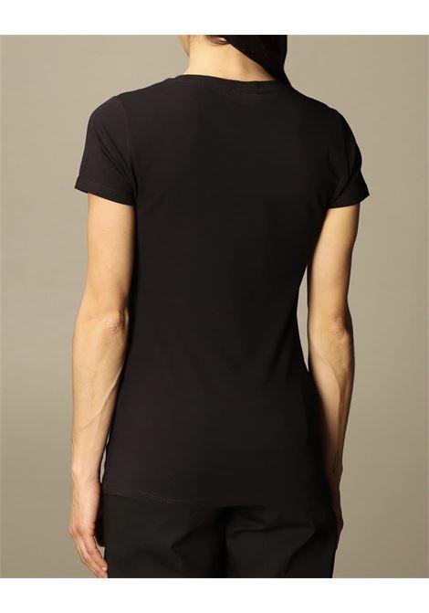 applicazioni rosetti paillettes LIU JO JEANS 1 | T-shirt | WA1270J5003W9188