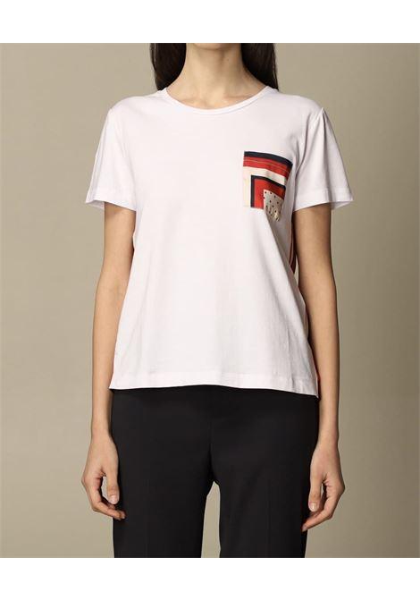 pannello raso fantasia taschino LIU JO JEANS 1 | T-shirt | WA1482J5972T9742