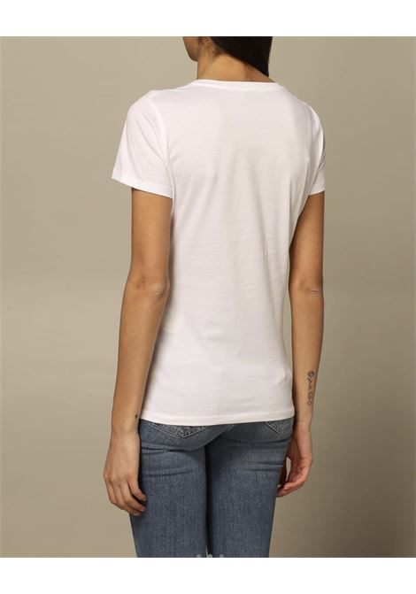 stampa cane e borsetta LIU JO JEANS 1 | T-shirt | WA1495J5003T9758