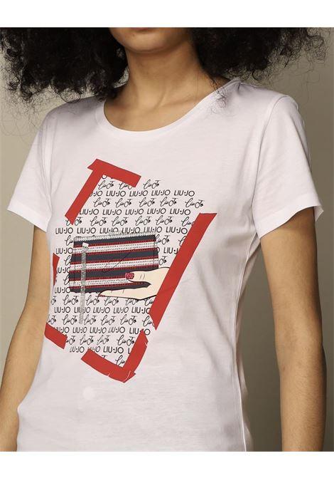 stampa cane e borsetta LIU JO JEANS 1 | T-shirt | WA1495J5003T9759