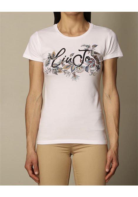stampa mezza manica giro collo LIU JO JEANS 1 | T-shirt | WA1569J0250T9734