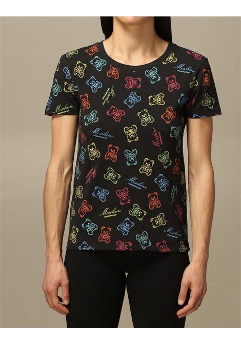 orsetti multicolor MOSCHINO UNDERWEAR | T-shirt | A1906 90081555