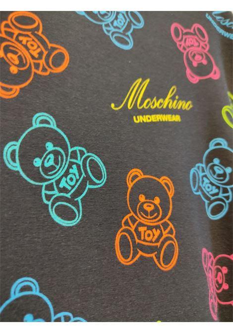 orsetti multicolor MOSCHINO UNDERWEAR   Maxi t-shirt   A1907 90081555