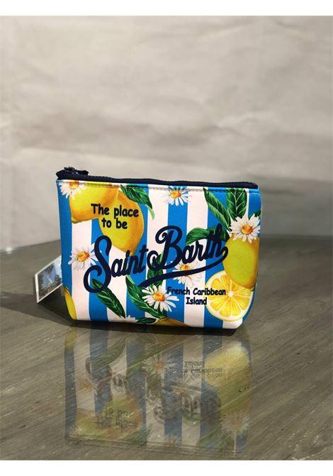 aline citrus lig 31 neoprene SAINT BARTH | Pochette | ALIN001CITL31MUL