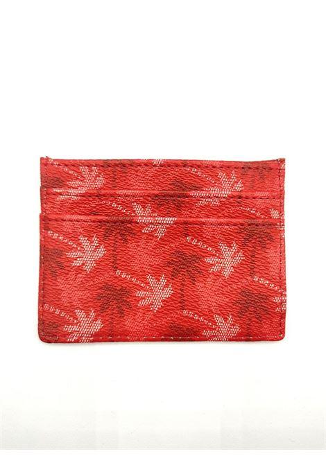 saffiano palme all over SAINT BARTH | Portacarte | CARDHOLDERCAH000141