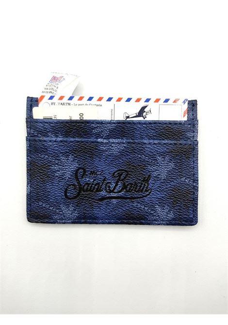 saffiano palme all over SAINT BARTH | Portacarte | CARDHOLDERCAH000161