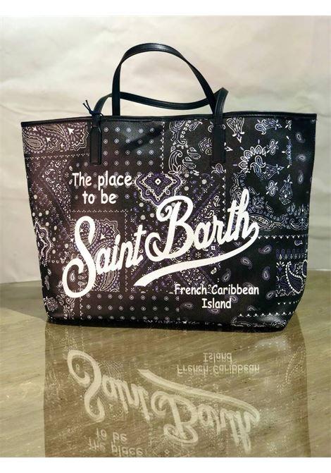 saffiano patchwork bandana SAINT BARTH | Borsa | MARAISPTBA0000