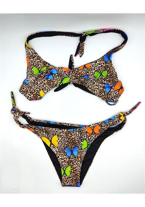 brassiere animalier farfalle SAINT BARTH | Costume | TRISTAN YALI LEOFLY11