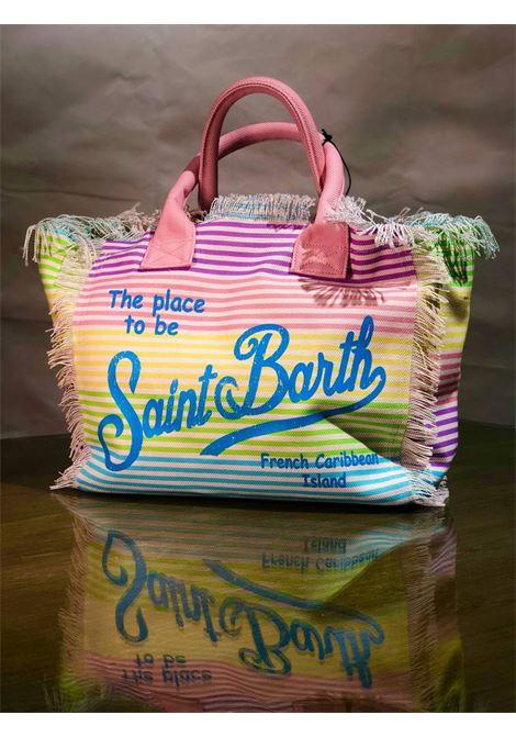 SAINT BARTH | Bag | VANITYMULTISTRIPESMU