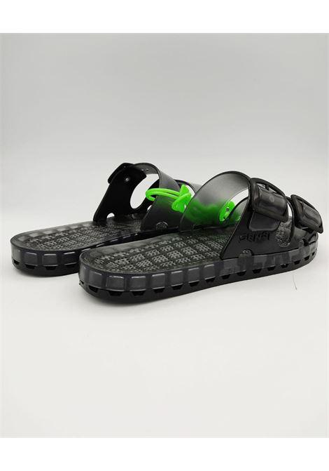 la jolla blackfluo SENSI | Sandalo | 4151/BFSM