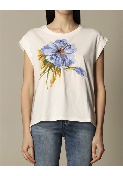 stampa fiore TWIN SET ACTITUDE | T-shirt | 211MT266806153