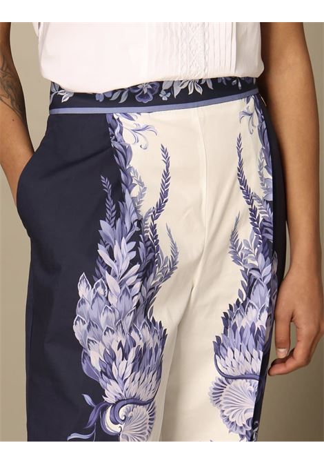 cropped stampa rinascimentale TWIN SET COLLECTION | Pantalone | 211TT219006112