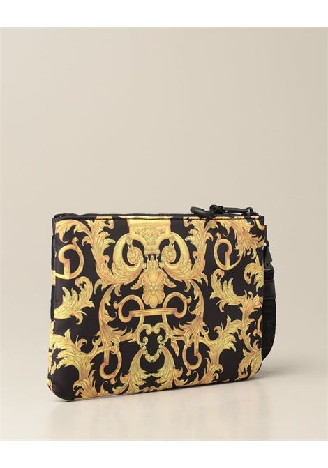 nylon  baroque macrologo zip VERSACE JEANS COUTURE | Pochette | E3YWAP271896M27