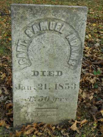 ADAMS, CAPT. SAMUEL - Boone County, Illinois   CAPT. SAMUEL ADAMS - Illinois Gravestone Photos