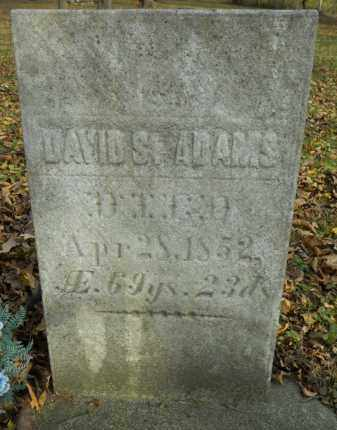 ADAMS, DAVID S. - Boone County, Illinois   DAVID S. ADAMS - Illinois Gravestone Photos