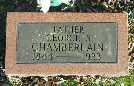 CHAMBERLAIN, GEORGE S. - Boone County, Illinois | GEORGE S. CHAMBERLAIN - Illinois Gravestone Photos